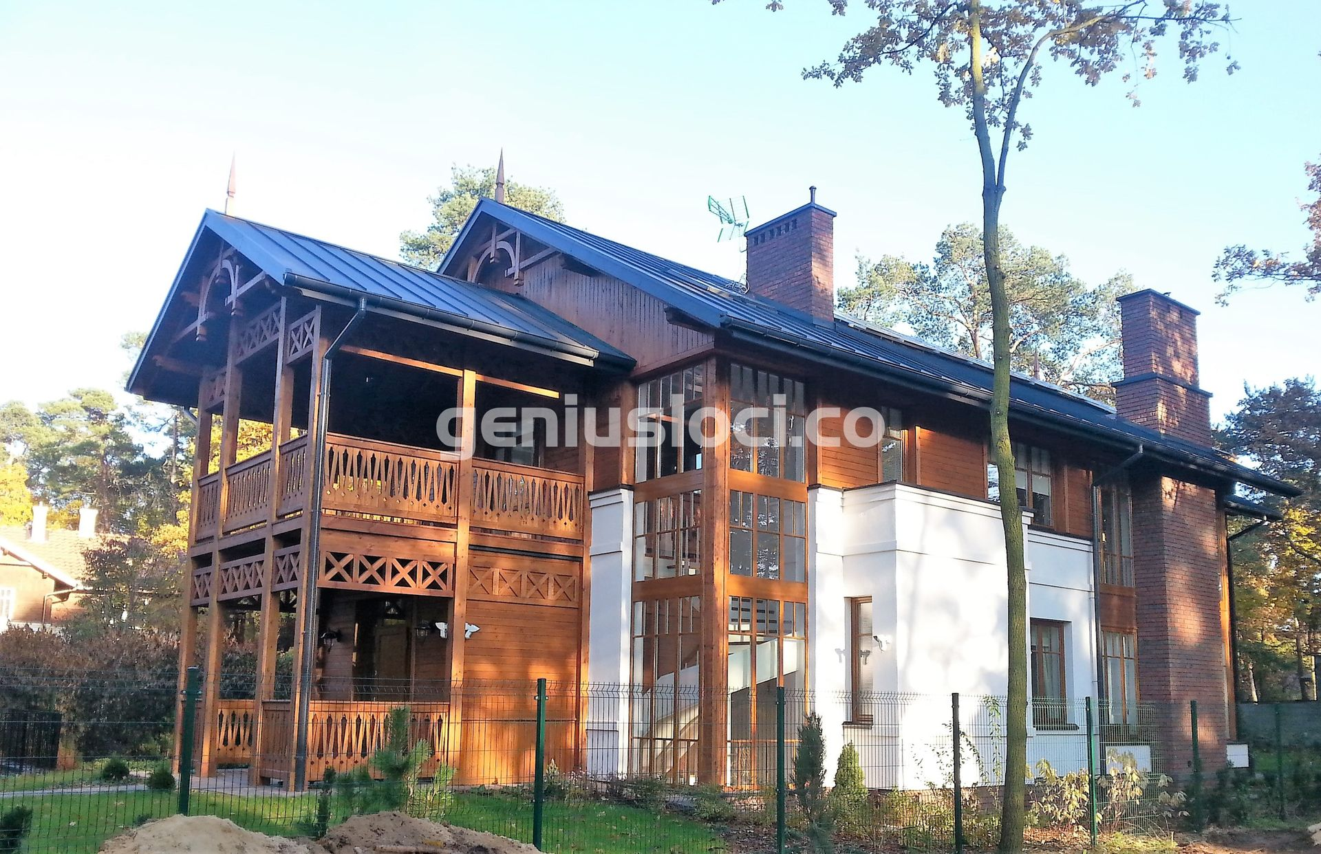 Dom przy ulicy Długiej wJózefowie