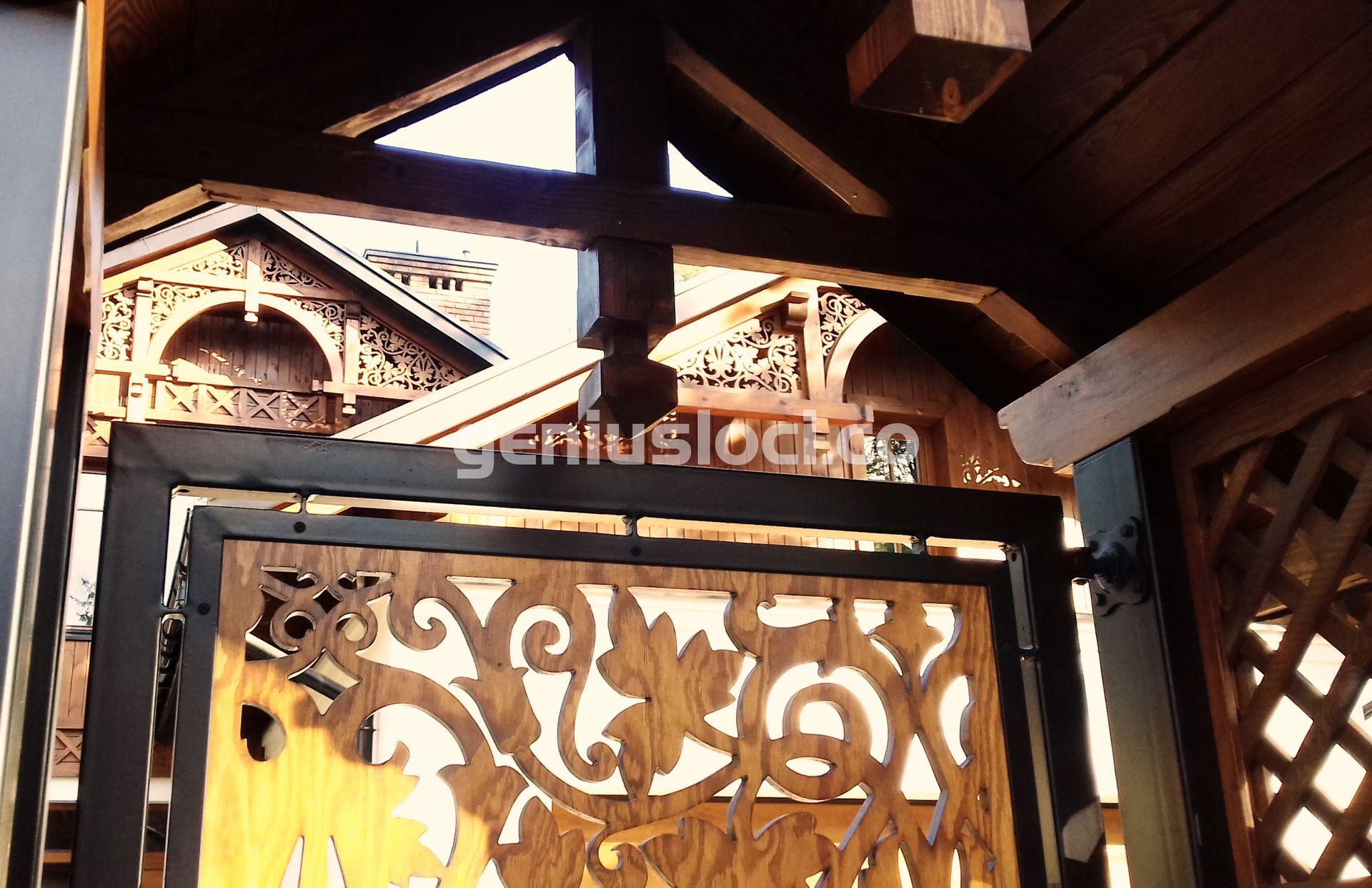 Drewniane detale wstylu Swidermajer