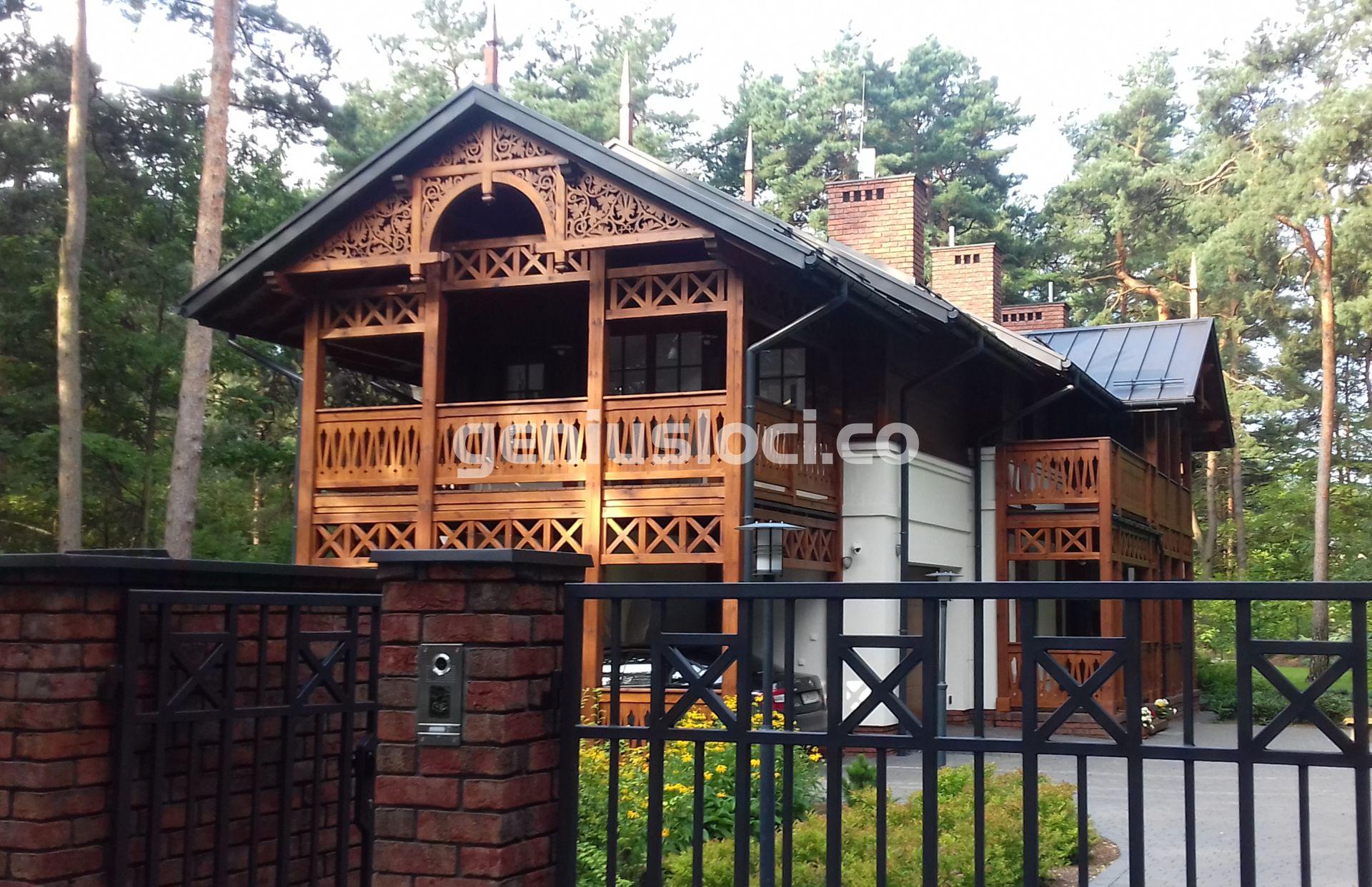 Dom przy ulicy Jałowcowej wJózefowie