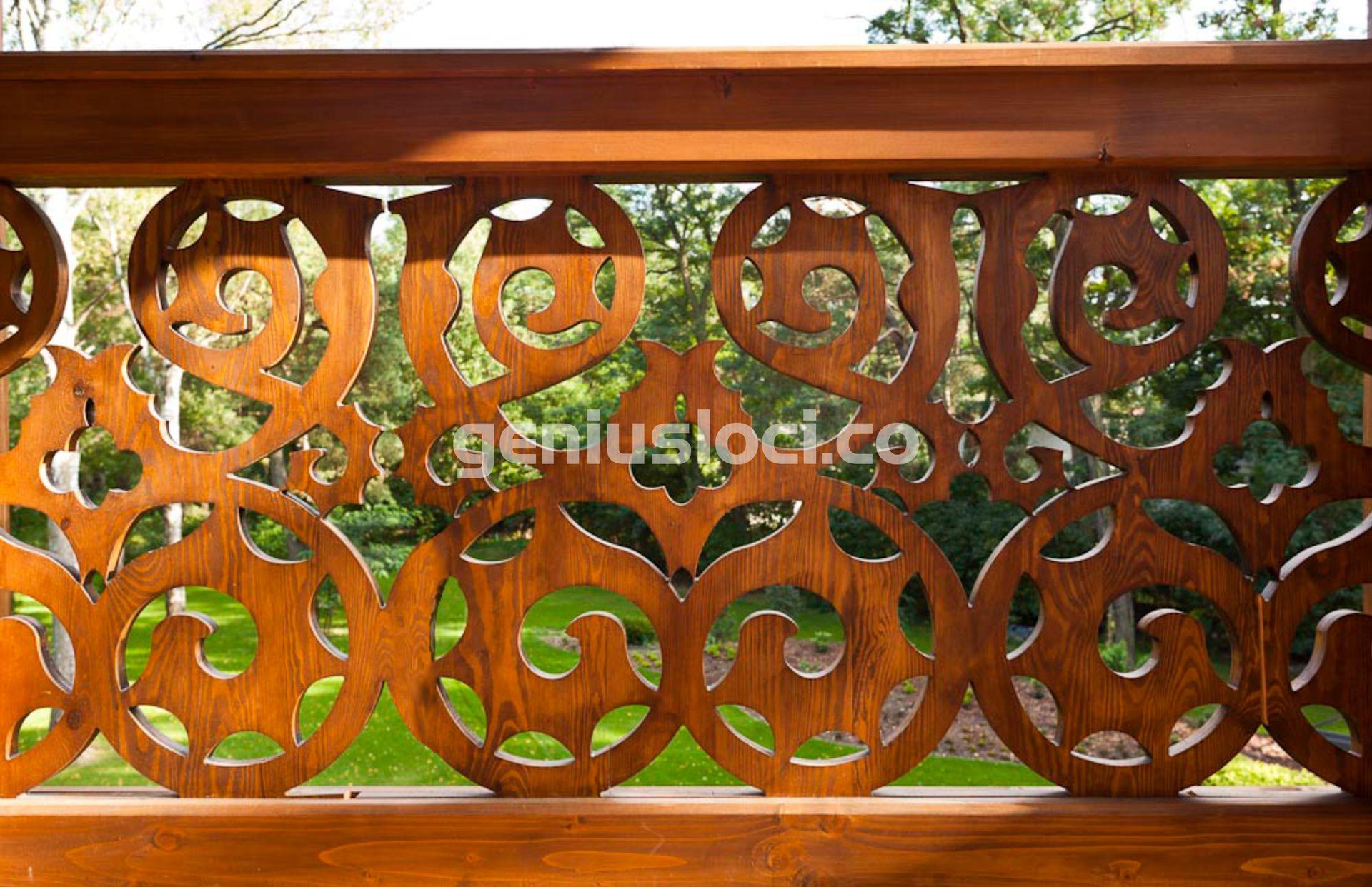 Ozdobna balustrada tarasowa